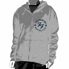 FOO FIGHTERS:Stencil:Zip Hooded Sweat:NEW:XLARGE ONLY