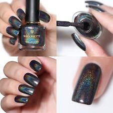 BORN PRETTY Black Holographic Polish Nail Laser Glitter Manicure Varnish BP-FH16