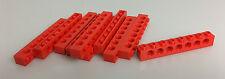 LEGO® Technic Neuware 10x Lockbalken 1x8 rot red 3702 aus 8865 neu new