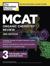 MCAT Organic Chemistry Review, 3rd Edition by Princeton Review Staff