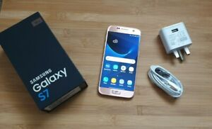 SAMSUNG GALAXY S7 SM-G930F 4G SMARTPHONE PINK GOLD UNLOCKED