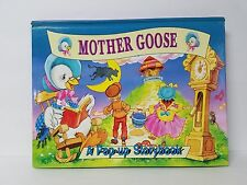 Mother Goose Pop-Up Picture Story Book (Hardcover)