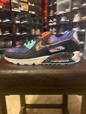 IN HAND Nike Air Max 90 Supernova Galaxy Metallic Silver Size 8 CW 6018-001 NEW