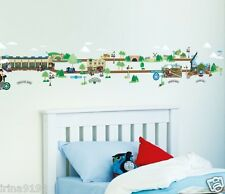 Thomas and Friends Stick a Story Vinyl Wall 100 Stickers Room Decoration