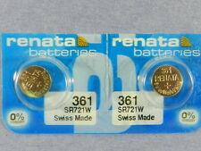 Renata  361 /  SR721W    Batteries  Button Cell ,2Pcs