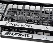 Euro Standart License Plates Frames For Mercedes-Benz AMG G-Class 65 NEW 2pcs.