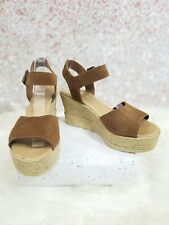 Bamboo wedge shoes SIZE 8