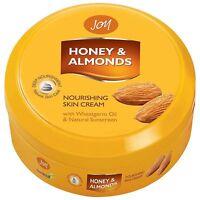 JOY Honey & Almonds Nourishing Skin Cream with wheatgerm oil & sunscreen -200 ML