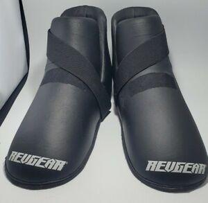 Revgear Freestyle Grappling Feet Guard MMA Muay Thai Kick Boxing foot pads Large
