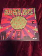 Citizen Cope Heroin And Helicopters New Silver Foil Vinyl Limited Edition #91