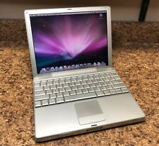 """Apple 12"""" PowerBook G4 A1104 1.5GHz / 512MB / 80GB and Good Battery!!!!!"""