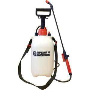 Spear & Jackson 5LPAPS 5LTR Pump Action Pressure Sprayer