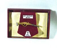 Collectable England, Stratton Tie Bar/Clip Clasp 17th Century Pistol