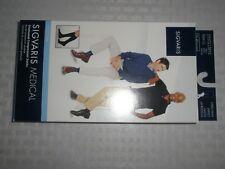 Sigvaris Medical men Cotton Navy knee High Compression Sock, size LL 30-40 mmHg,