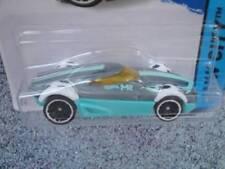 Véhicules miniatures bleus Hot Wheels en fonte