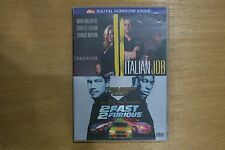 The Italian Job / 2 Fast 2 Furious    - VGC Pre-owned (D45)