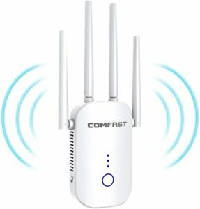 BOJOBNJ WiFi Booster Range Extender, 1200Mbps Extend Dual Band WiFi of 5GHz & 2.