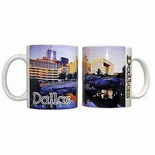 Dallas texas bovinos café taza de café Taza, estados unidos souvenir taza, Coffee Mug