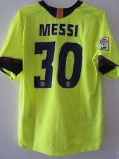 Nike 05-06 Barcelona Messi Away Football Shirt Soccer Jersey Rare Yellow L