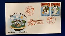 Vietnam 2020 Anti NCoV Fight The Virus FDC Stay At Home VN #1121 Mint 2 Stamps