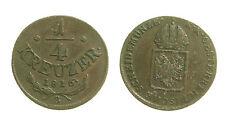 pcc1350_11) Österreich AUSTRIA 1/4 KREUZER 1816 A