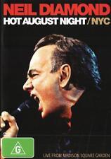 Neil Diamond: Hot August Night / NYC NEW DVD (Region 4 Australia) Live Concert