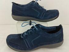 Dansko Navy Blue Suede Mesh Slip Resistant Sneakers Womens Size 6.5 / 37