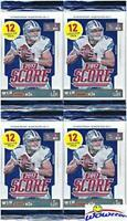 2017 Score NFL Football Collection of FOUR(4) Factory Sealed Packs with 48 Cards