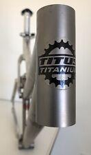 """Titus Quasi-Moto Titanium / Alloy  Full Suspension Frame • 20""""C-T X 22"""" Top Tube"""
