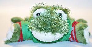 Webkinz LIL' KINZ  Green BULLFROG Frog Star Tshirt Plush Stuffed Lovey