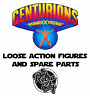 Vtg Centurions Figures Spare Parts Weapons & Accessories 80s Kenner