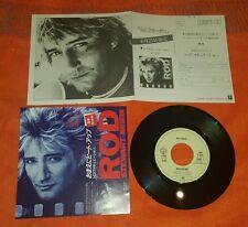 "Rod Stewart Infatuation three time loser  Japan 45 usato 7"""