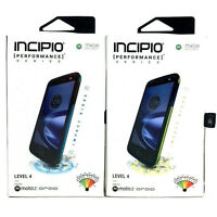 Incipio Performance Series Rugged Case with Belt Clip Holster for Moto Z Droid