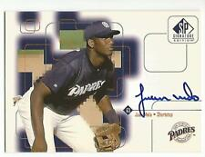 JUAN MELO CERTIFIED Signed Auto 1999 Upper Deck SP Signature Edition card Padres