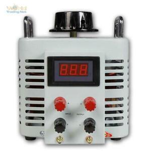 Stelltrafo Regeltrafo Ringkerntransformator Ringkerntrafo 2000 Watt Trafo 8A