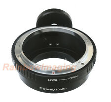 Canon FD Lens to Micro 4/3 M43 Adapter Tripod Ring Panasonic GX2 GX7 GX8 GM1 GM5
