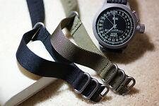 La OTAN Zulu XL buzos G10 Correa de nylon de alta resistencia 18mm 20mm 22mm 24mm las barras de herramientas +