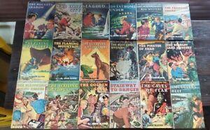 1-18 Rick Brant Science Adventure Series Vintage Lot John Blaine