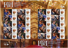 Jersey 2018 MNH Prince Harry & Meghan Royal Wedding 20v S/A M/S Royalty Stamps