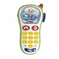 Chicco Baby's Fotohandy Babyspielzeug Kindertelefon Spielzeugtelefon NEU