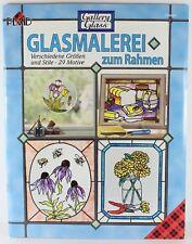 Plaid Glasmalerei Zum Rahmen Glass Art for Framing Book #GR9486 In German