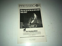 MEPHISTO WALTZ Vintage Movie Pressbook 1971 Satan Cult Occult Horror