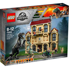 LEGO Jurassic World Indoraptor Rampage at Lockwood Estate75930