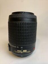 Nikon AF-S DX Nikkor 55-200mm F/4-5.6 G ED IF VR Autofocus Lens
