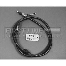 FIRSTLINE R//H HANDBRAKE CABLE FKB1957 FOR CITROEN ZX 1.4i 1.8i  1.9D//TD  96-98