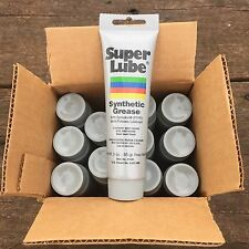 CASE LOT 12 SUPER LUBE Synthetic Grease 3oz Multi Purpose Dielectric Gun Rifle