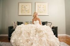 Pnina Tornai for Kleinfeld wedding gown- ivory preowned style #5179-nlty/3282437