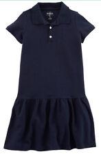 OshKosh BGosh Girls Cotton Navy Blue School Uniform Polo...