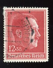 Germany-B118-used hinged-Hilter--1938