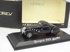Norev 1/43 - Peugeot 302 Darl Mat Noire